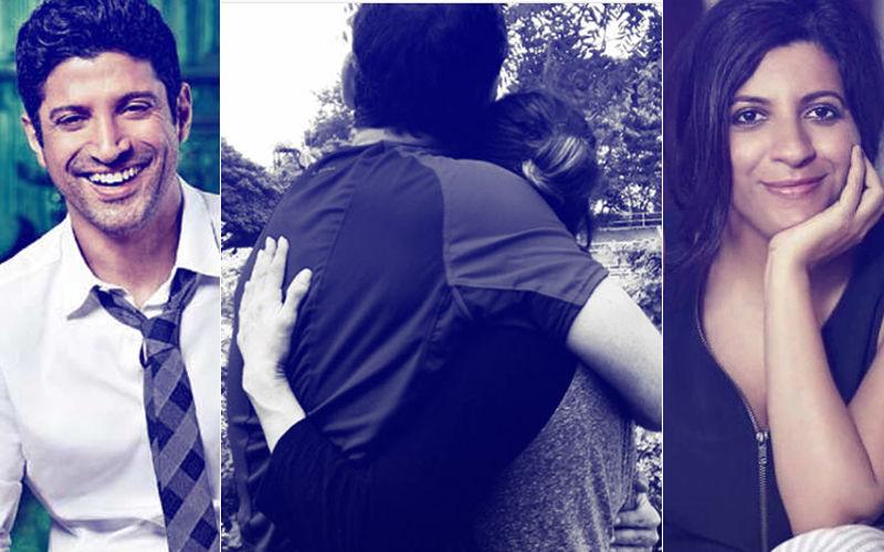 Farhan Akhtar's Ex-Wife Adhuna Hugs Her New Love Nicolo, Actor's Sister Zoya Likes It