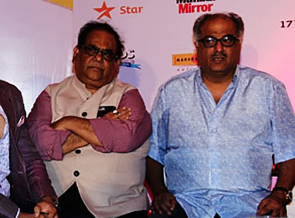 Boni Kapoor With Satish Kaushik