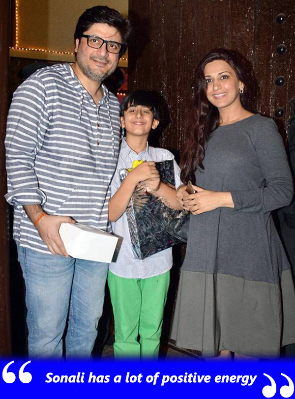 Goldie Behl And Sonali Bendre With Their Son