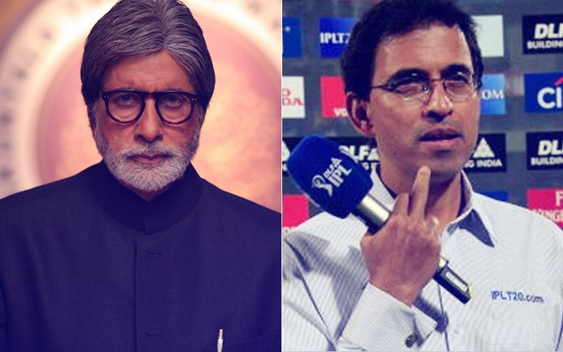 Is Bachchan Being TROLLED For Tweeting That Harsha Bhogle's Commentary Was 'Biased'?
