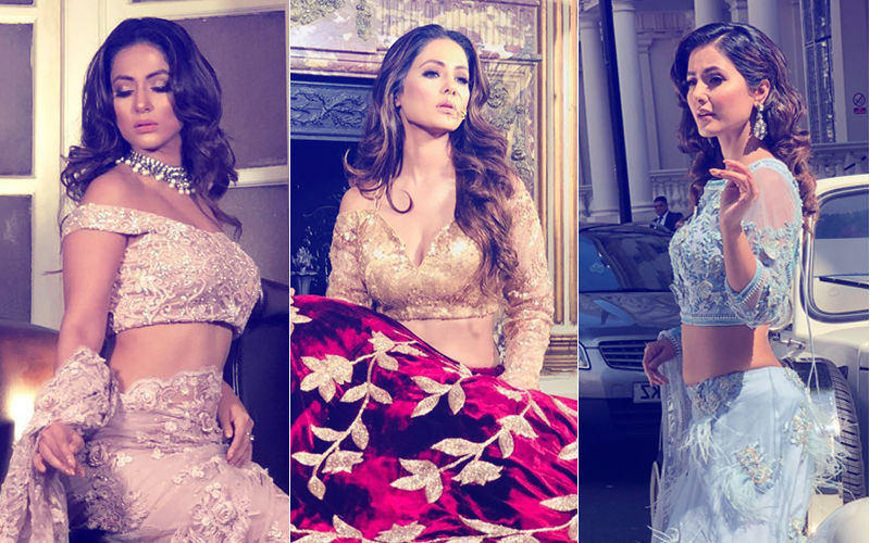 Hina Khan Turns Bride. Do Not Miss Her Stunning Pictures!