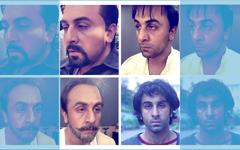 In Pics: How Ranbir Kapoor Became Sanjay Dutt