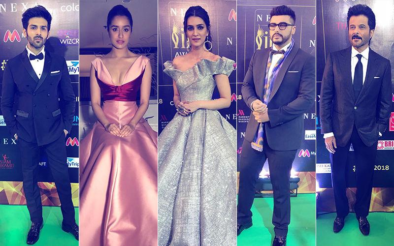 IIFA 2018: Anil Kapoor, Arjun Kapoor, Kartik Aaryan, Shraddha Kapoor & Kriti Sanon Arrive At The Event