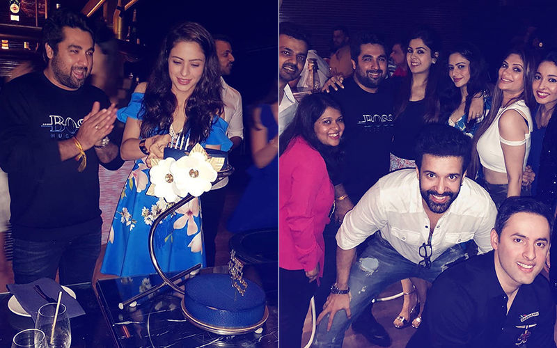 Inside Pictures: Birthday Girl Aamna Sharif Parties Hard With Aamir Ali & Shweta Rohira