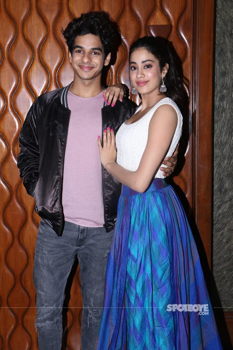 Ishaan Khatter And Janhvi Kapoor