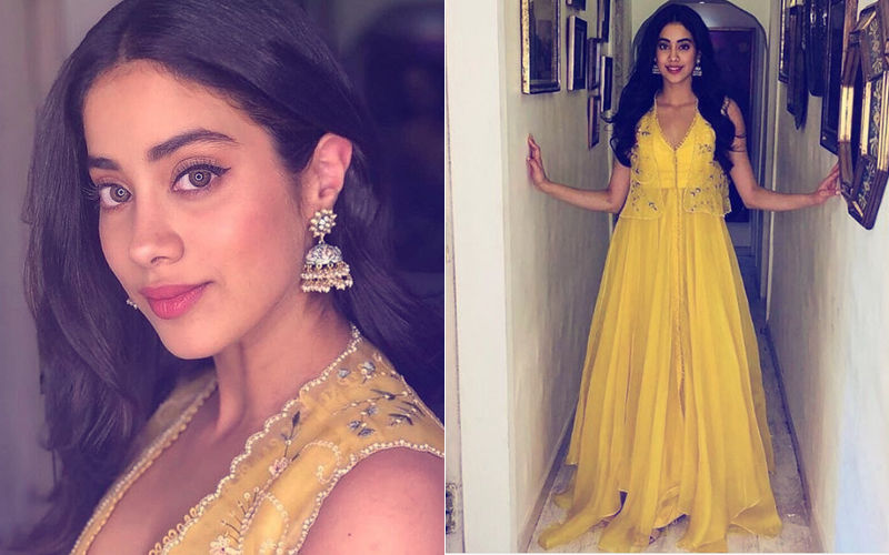 Janhvi Kapoor Is A Spitting Image Of Mom Sridevi In This Yellow Dress