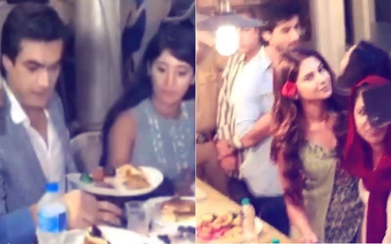 Watch: Jennifer Winget, Harshad Chopra, Shivangi Joshi & Mohsin Khan Enjoy Iftar Party
