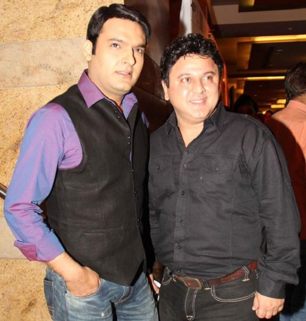 Kapil Sharma With Ali Asgar