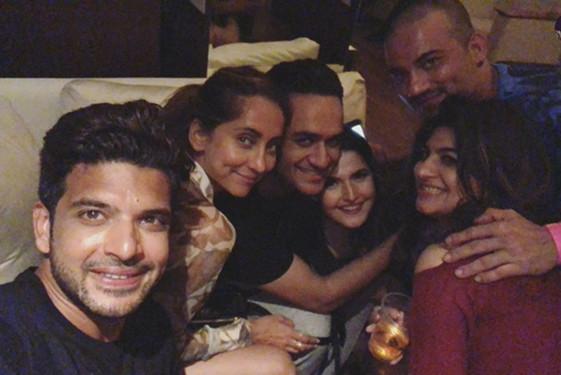 Celebrities At Zareen Khan s Birthday