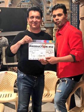 Karan Johar With Sajid Nadiaidwala