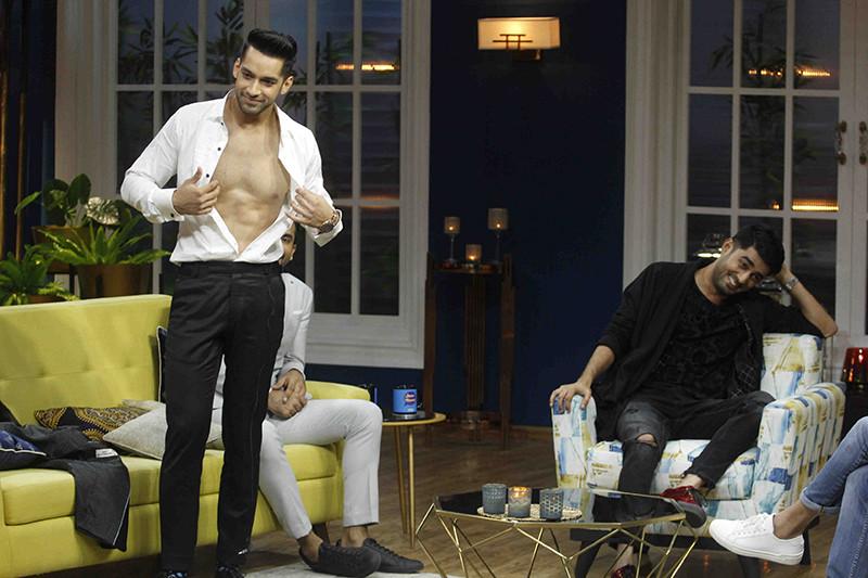 Karan Vohra Goes Shirtless On The Sets Of Juzzbaatt