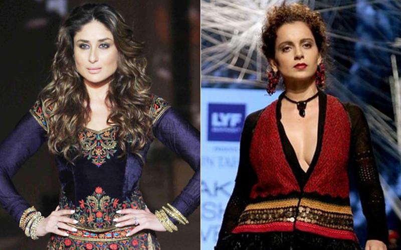 Kareena Kapoor And Kangana Ranaut At Lakme Fashion Week