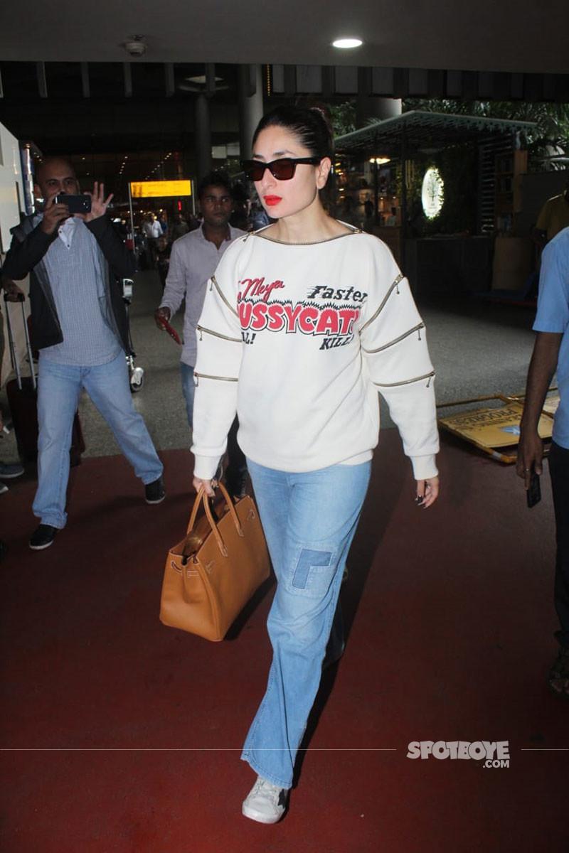 Kareena Kapoor Snapped At Mumbai Airport