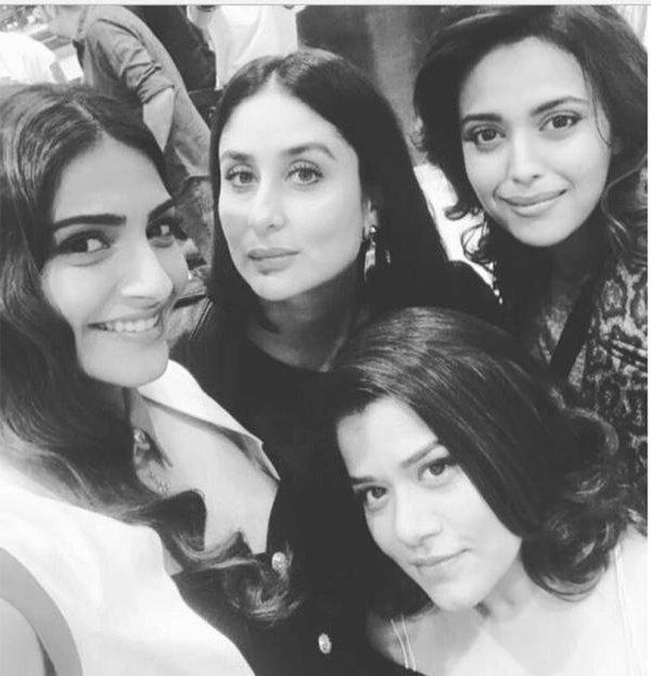 Kareena Kapoor With Swara Bhasker And Sonam Kapoor
