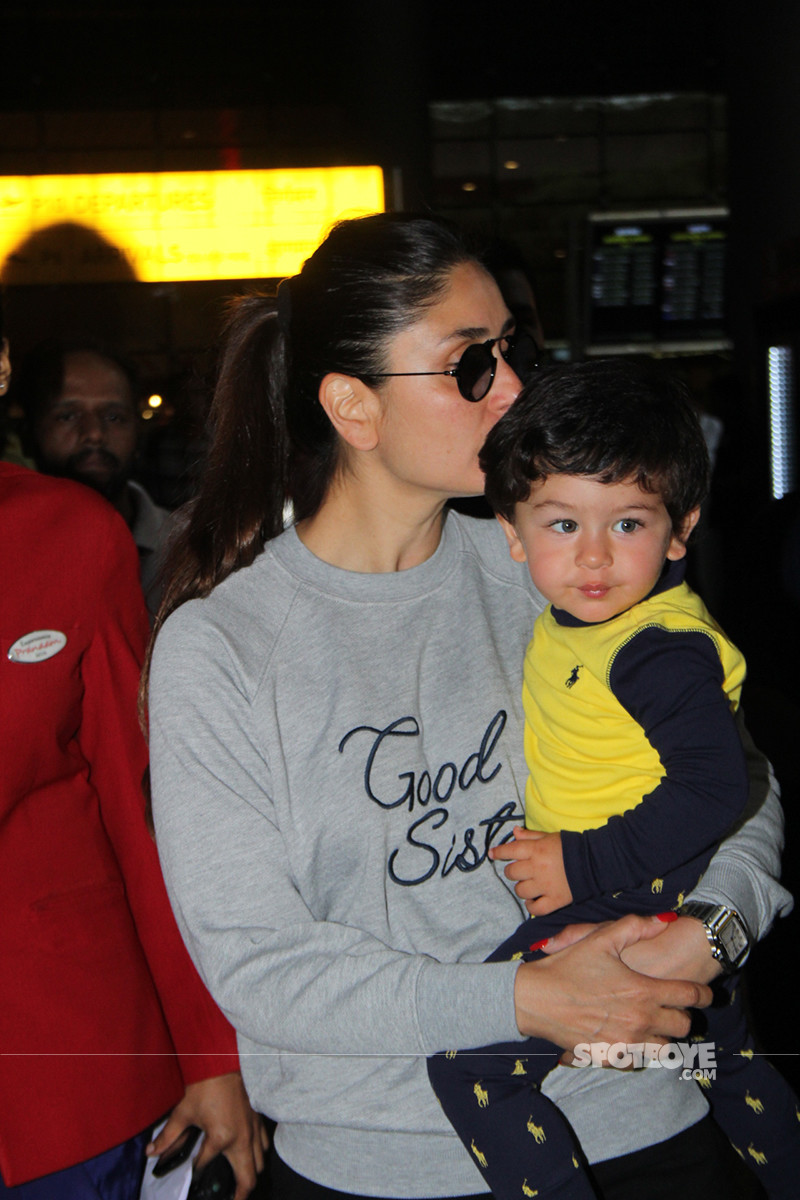 Kareena Kisses Taimur
