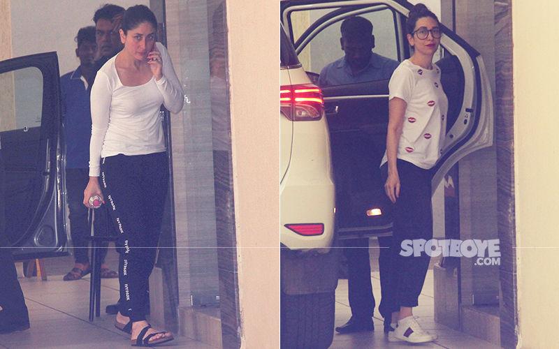 Kareena & Karisma Kapoor Spend An Afternoon With Their Darling Mom Babita
