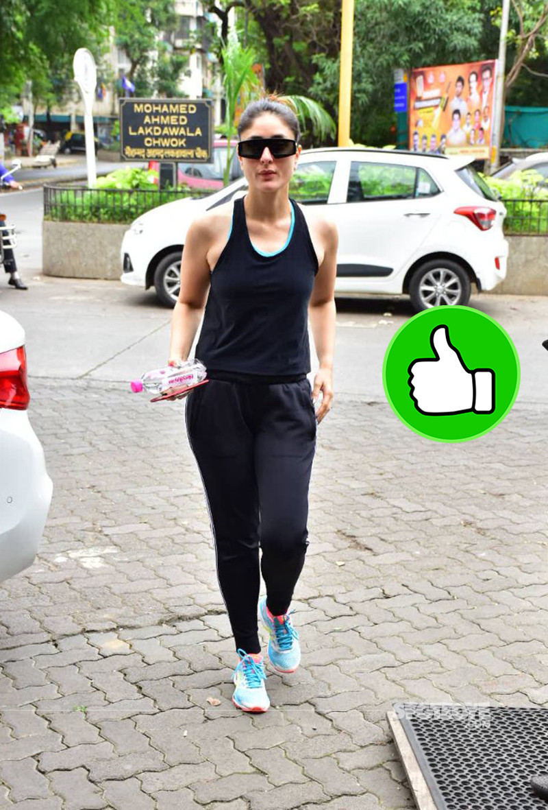 Kareena Kapoor Spotted After A Workout Session