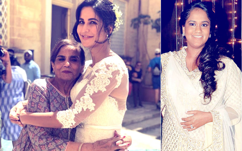 Bharat Pic: Bride Katrina Kaif Hugs Salman Khan's Mother; Fan Says 'Saas Bahu Goals'; Arpita Deletes Picture