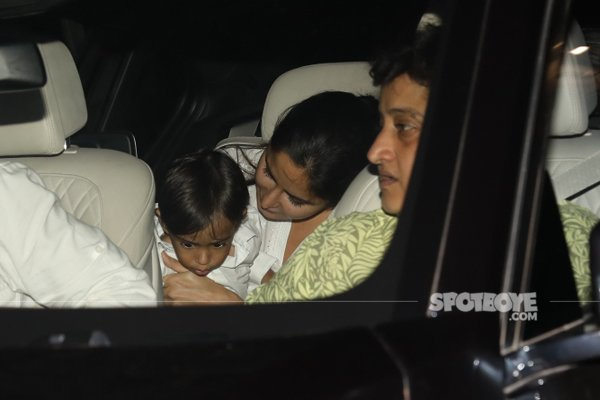 Katrina Kaif With Salman Khan Nephew Ahil 2