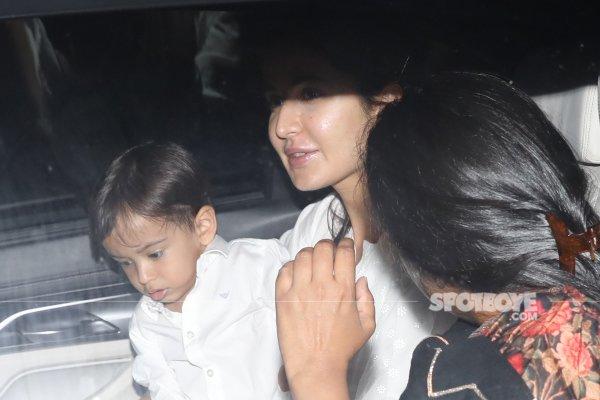 Katrina Kaif With Salman Khan Nephew Ahil 3