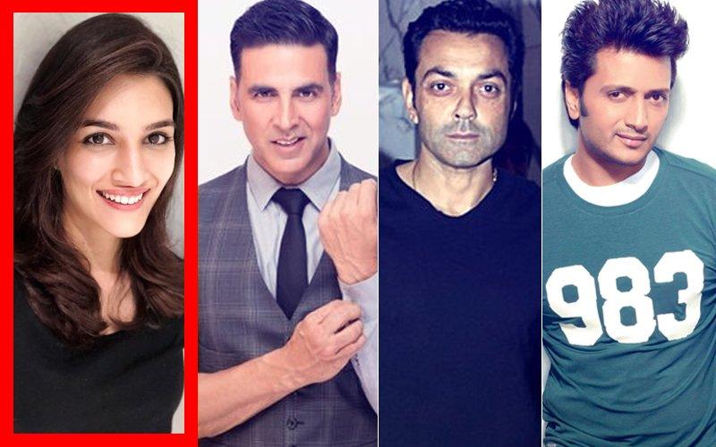 It's Official: Kriti Sanon Joins Akshay Kumar, Bobby Deol & Riteish Deshmukh In Housefull 4