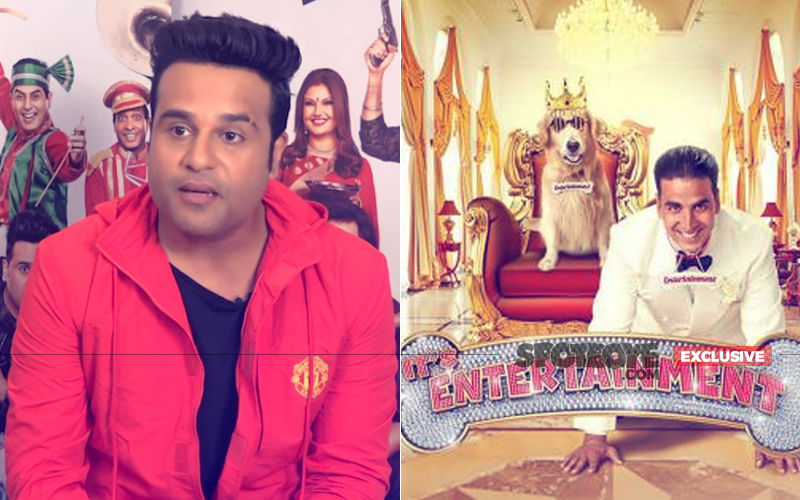 Krushna Abhishek: Felt Bad That A Dog Made It On The Entertainment Poster But Not Me
