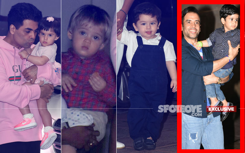 Roohi, Yash, Taimur Make A Grand Entry At Laksshya Kapoor's Birthday Bash