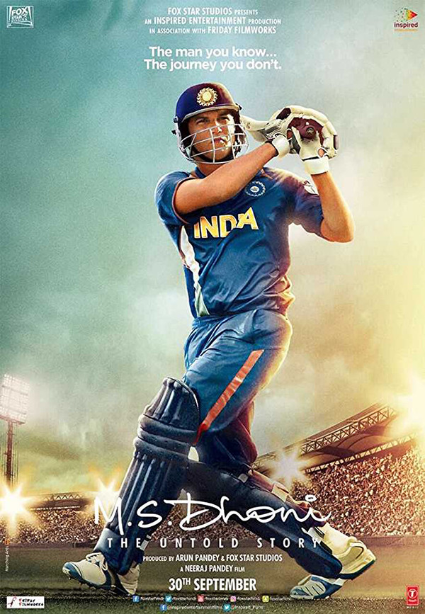 M S Dhoni The Untold Story Poster