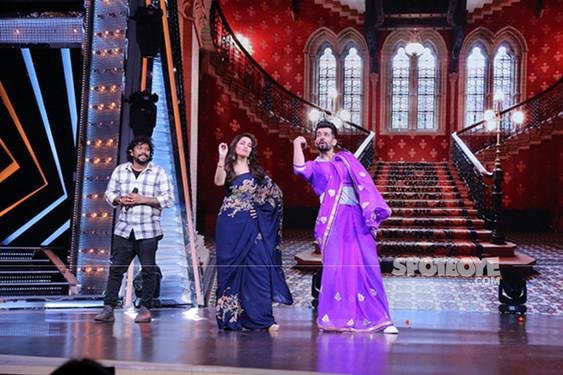 Madhuri Dixit Along With Jay Bhanushali