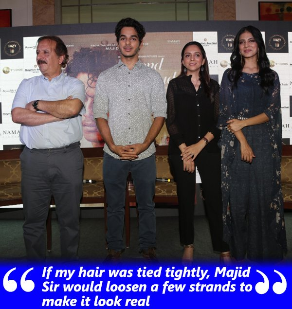 Malavika Mohanan With Majid And Ishaan Khatter