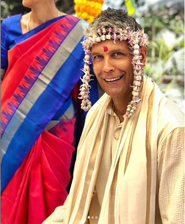 Milind Soman Wedding
