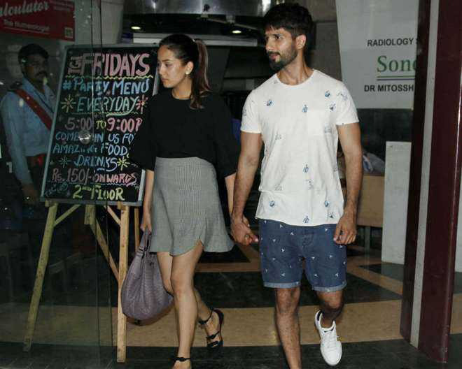Mira Rajput And Shahid Kapoor