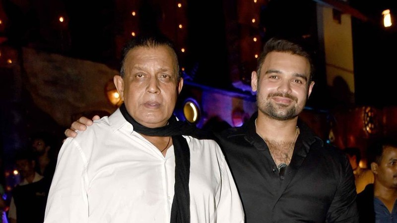 Mithun With Mahaakshay