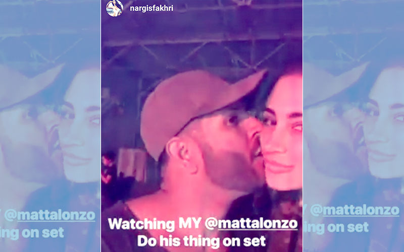 Nargis Fakhri Admits Relationship With Matt Alonzo; Posts Kissing Picture