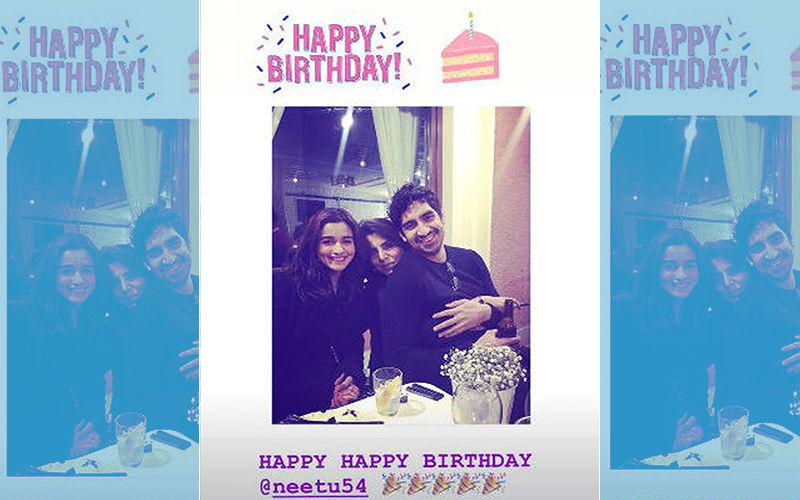 Here It Comes! Alia Bhatt Wishes Beau Ranbir's Mom, Neetu Kapoor, On Her Birthday