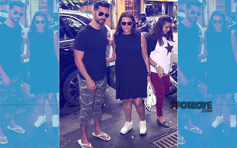 Neha Dhupia Birthday: Angad Bedi Takes Mommy-To-Be For A Romantic Lunch Date