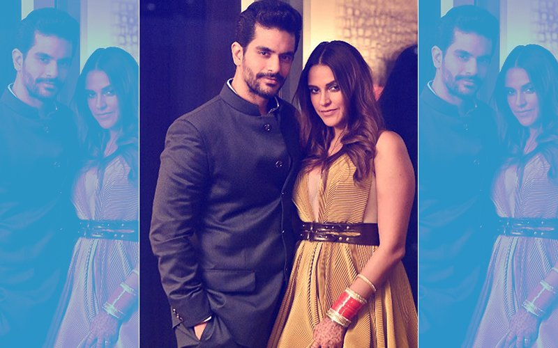 Here's Neha Dhupia & Angad Bedi's First Picture After Marriage