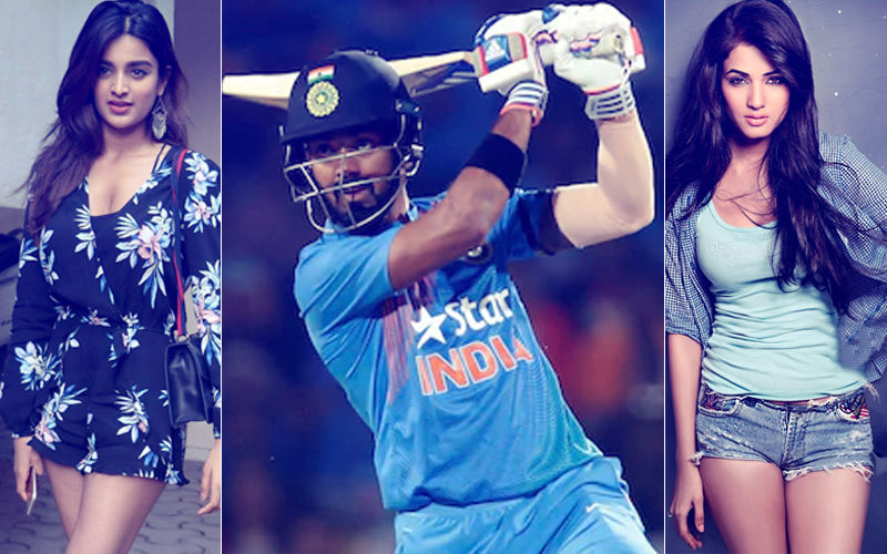 Lusty Cheering From Nidhhi Agerwal & Sonal Chauhan, Yet KL Rahul Gets A Duck!