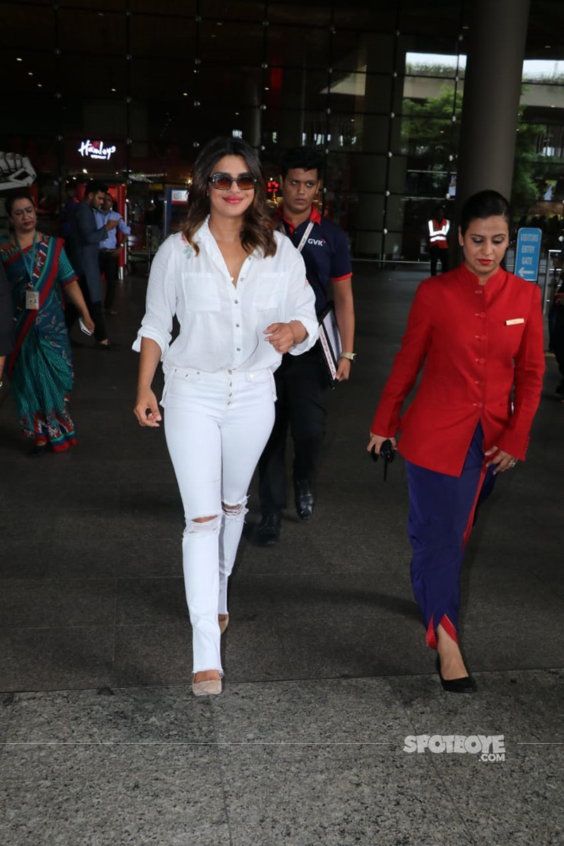 Priyanka Chopra At Mumbai
