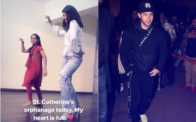 Nick Jonas Captures Fiancee Priyanka Chopra Dancing At Orphanage; Singer Returns To LA