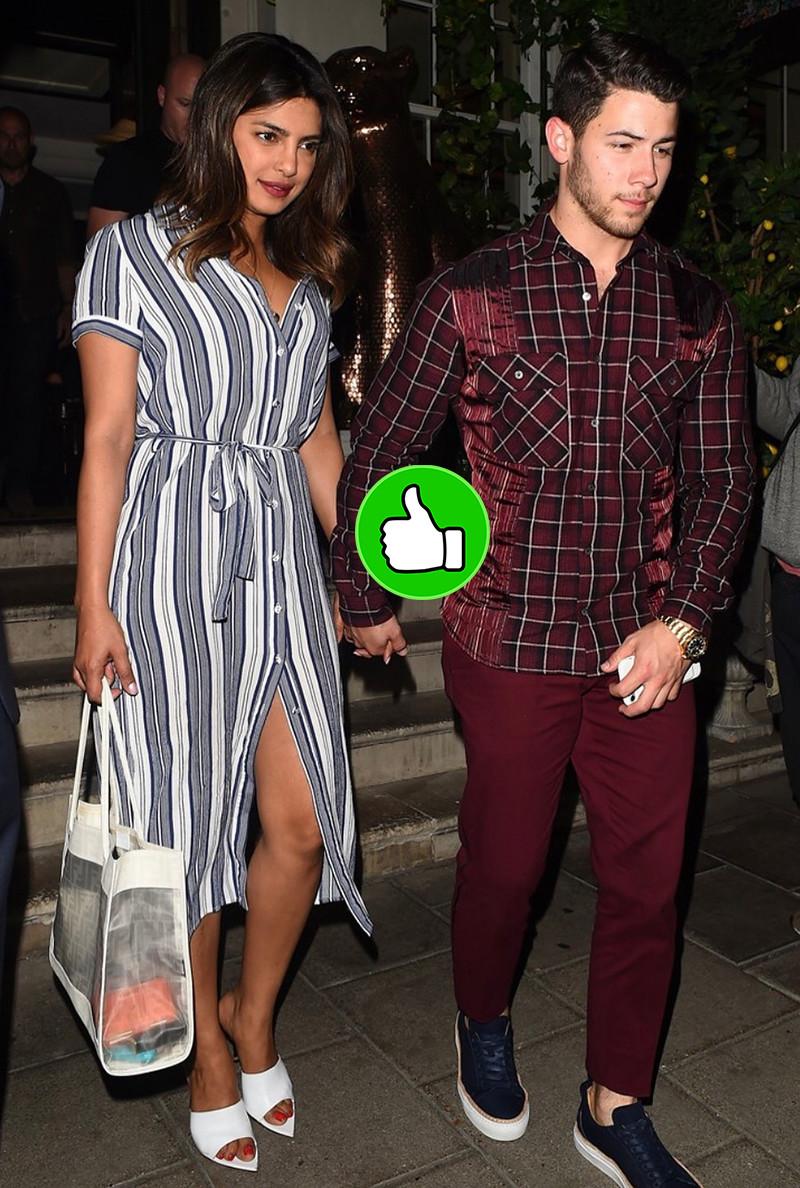 Priyanka Chopra Snapped With Nick Jonas