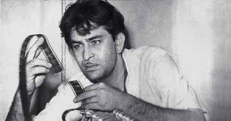 Raj Kapoor At RK Studio