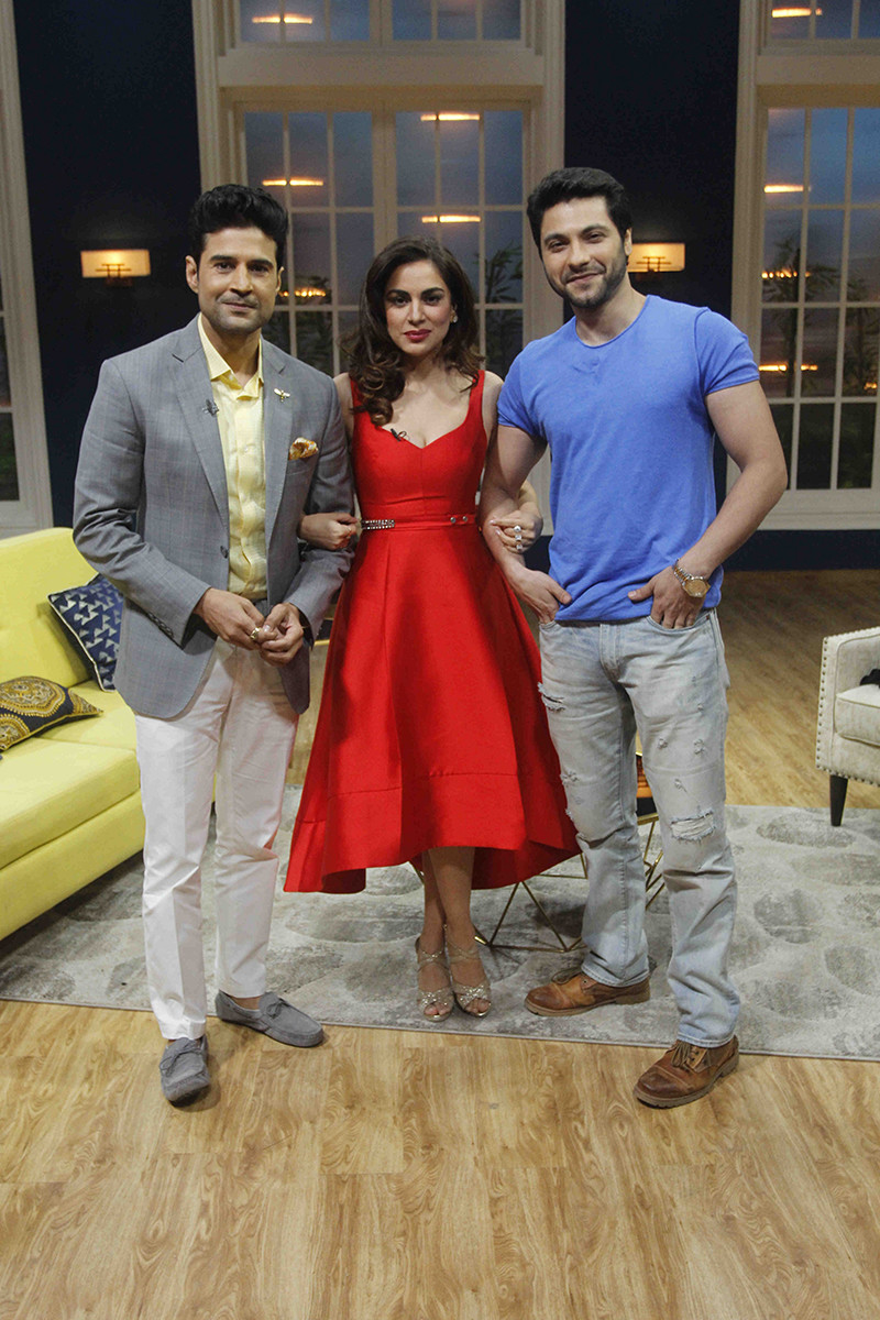 Rajeev Khandelwal With Shraddha Arya And Mishal Raheja On Zee TV JuzzBaatt