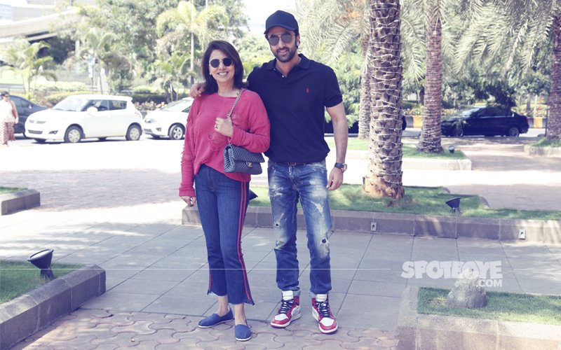 Mother's Day 2018: Ranbir Kapoor Takes His Special Lady To Lunch