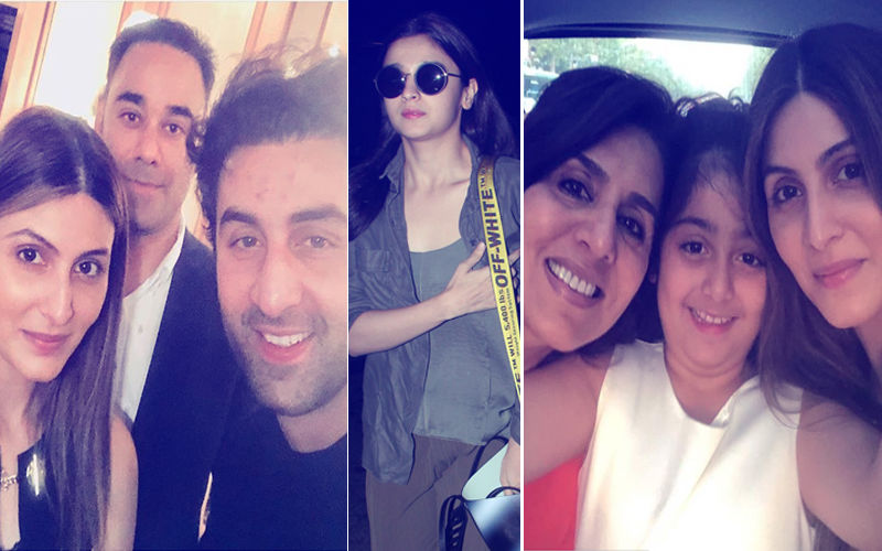 Ranbir Kick-Starts Mom Neetu Kapoor's 60th Birthday Celebrations. Will Alia Bhatt Join Them?