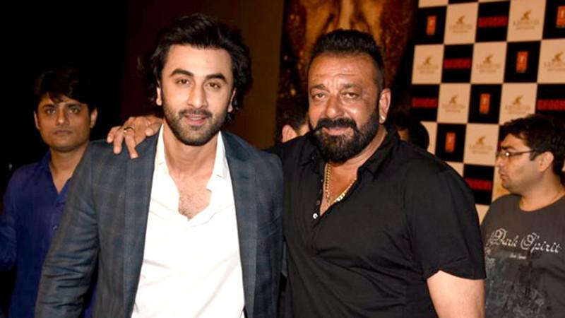 Ranbir and Sanjay Dutt