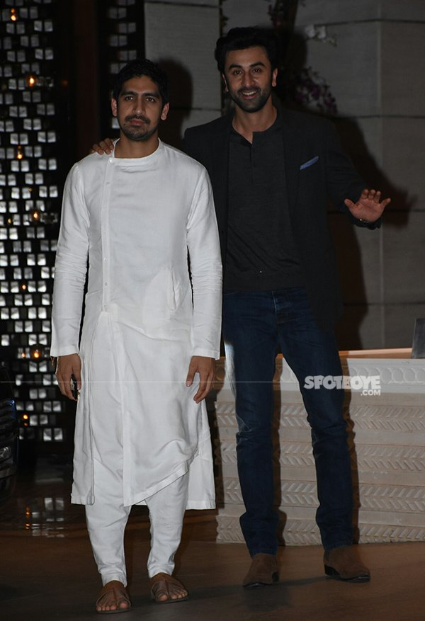 Ranbir Kapoor walked in with his buddy Ayan Mukerji