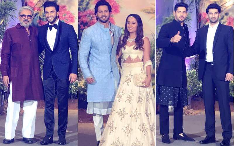 Sonam Kapoor Reception: Varun Dhawan, Ranveer Singh, Sidharth Malhotra & Aditya Roy Kapur Join The Party