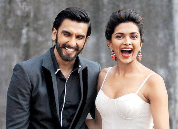 Ranveer Singh Deepika Padukone smiles