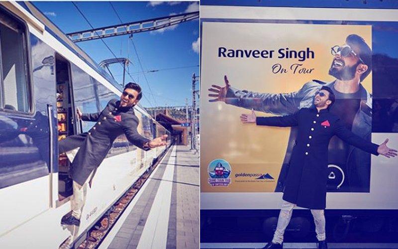 क्या बात! स्विट्जरलैंड में शुरू हुई बॉलीवुड स्टार रणवीर सिंह के नाम की ट्रेन